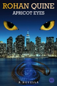 APRICOT EYES (novella) by Rohan Quine - ebook cover reduced