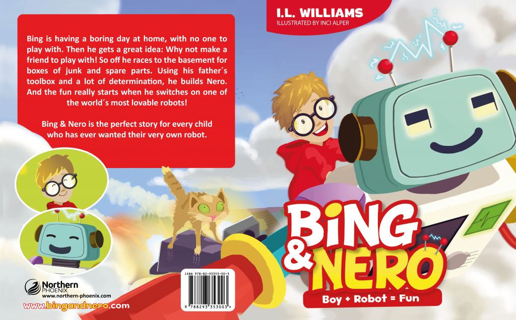 Ingrid Williams, on the launch of her children's book, Bing and Nero