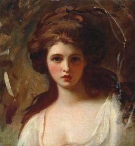 Lady Hamilton as Circe circa 1782 by George Romney 1734-1802