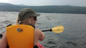 Colleen Mills kayak