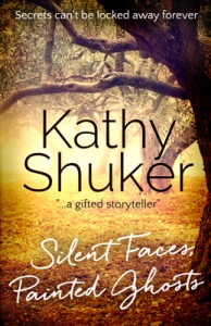 Kathy Shuker Silent Ghosts Painted Faces cover.
