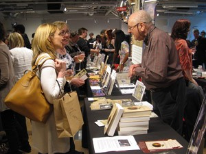 Ian D Richardson Foyles book Fair