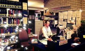 Karl as librarian