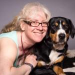 Rosemary and dog