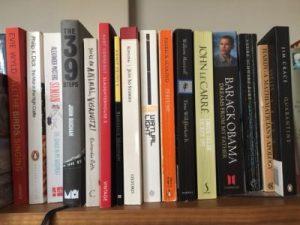 Adam Bethlhem's bookshelf