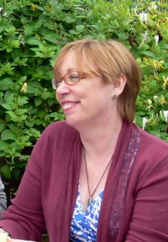 Clare Flynn, author of The Chalky Sea