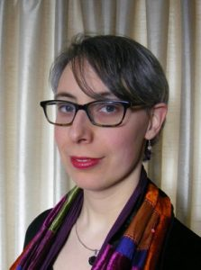 Kathleen Jowitt, the first self-published author to have a book shortlists for the Betty Trask Award
