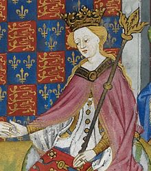 Margaret of Anjou, detail from the Talbot Shrewsbury Book