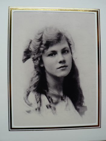 My father's mother, Josephine Golton, aged 14