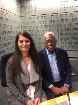 Madeleine Black interviewed by Sir Trevor McDonald
