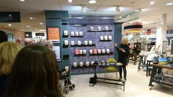 Christine Webber, Book signing at Jarrold Department Store, Norwich